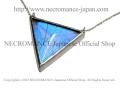 �ڥͥ���ޥ� NECROMANCE�ۥꥢ��Х��ե饤�����ȥ饤����ͥå��쥹 Real Butterfly Wing Triangle Necklace �㥹�륳�����������ե��� ij�� ��