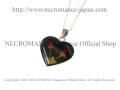 �ڥͥ���ޥ� NECROMANCE�� ���֥�ߥ˥?���ϡ��ȥͥå��쥹 Double Mini Rose heart Necklace �� �ϡ��ȷ�