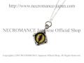 �ڥͥ���ޥ� NECROMANCE�� ����С�����ͥå��쥹 Silver Glass Eye Necklace �㥰��� �ء�����/Green Hazel/����� �ܶ� ���� �ɥ饴�� Dragon ζ