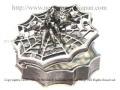 【ネクロマンス NECROMANCE】 スパイダーウェブボックス Spider Web Box <ブラック/Black/黒> 蜘蛛 ケース