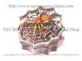 【ネクロマンス NECROMANCE】 スパイダーウェブボックス Spider Web Box <レッド/Red/赤> 蜘蛛 ケース