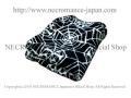 【ネクロマンス NECROMANCE】【数量 限定販売】スパイダーウェブブランケット Spider Weblanket 蜘蛛の巣 毛布