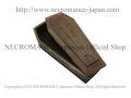 【ネクロマンス NECROMANCE】【数量限定】 フライングバットクロスウッドコフィンボックス Flying Bat Cross Wood Coffin Box コウモリ 蝙蝠 棺桶 十字架