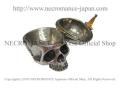 【ネクロマンス NECROMANCE】 タイニースカル ピルボックス Tiny Skull Pill Box 骸骨 頭蓋骨 薬 ケース