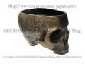 【ネクロマンス NECROMANCE】 スカルプランター Skull Planter 頭蓋骨 骸骨 小物入れ 鉢