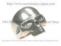 【ネクロマンス NECROMANCE】 シルバースカルリング Silver Skull Ring 骸骨 頭蓋骨