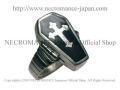 【ネクロマンス NECROMANCE】 棺桶クロスポイズンリング Coffin Cross Poison Ring 毒 十字架 シルバー 指輪