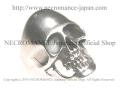 【ネクロマンス NECROMANCE】 ラージシルバースカルリング Large Silver Skull Ring 骸骨 頭蓋骨