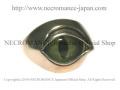 【ネクロマンス NECROMANCE】 NEW義眼リング New Eye Ring<グリーンキャットアイ/Green Cat Eye/緑猫目> 目玉