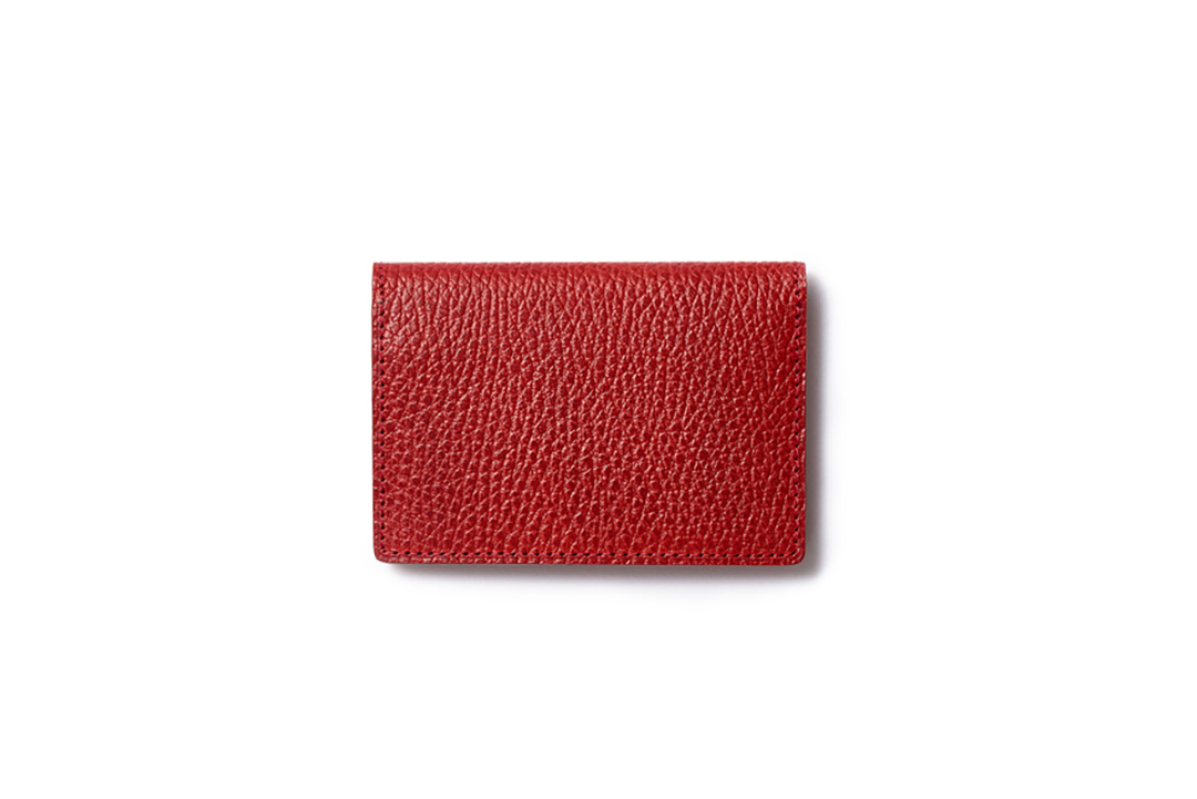 BUSINESS CARD CASE|RED