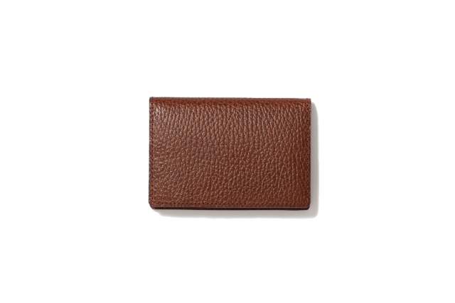 BUSINESS CARD CASE|CIGAR BROWN