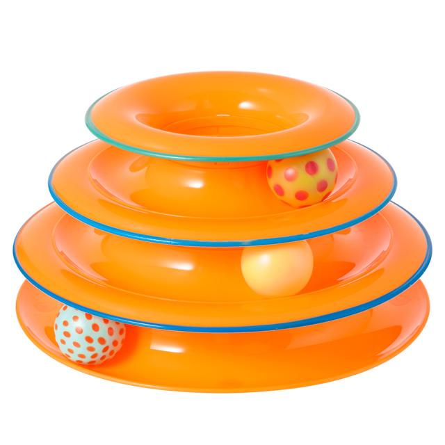 猫用ボールレーンおもちゃ