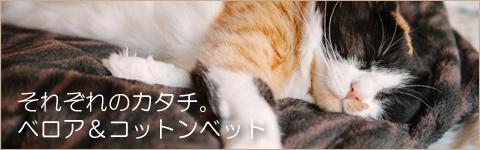 猫の寝袋ベッド