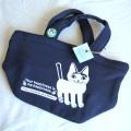 猫イラストのトートバッグ
