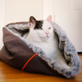 猫の寝袋型ベッド