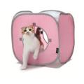 猫のファニチャー キャットプレイキューブ ピンク