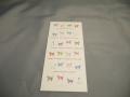 【カラフル猫】 カラフルなネコのイラストが可愛い一筆箋