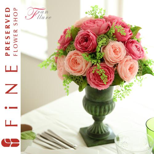 フランリュール(受注生産) プリザーブドフラワー/結婚祝い/開業祝い/開店祝い/ウェディング/結婚式【有料バッグ:LL対応】