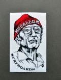Sticker * McCallum * Limited Edition * Red Beanie * マッカラム * 限定 * ステッカー * メール便対応