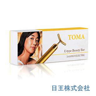 TOMA U型美容棒 美顔器 ゲルマニウム加工【期間限定 送料無料】