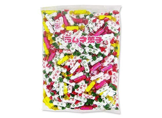 【お菓子のまとめ買い・キャンディ、飴系のお菓子】 カクダイ ラムネ菓子 業務用 (1Kg入)