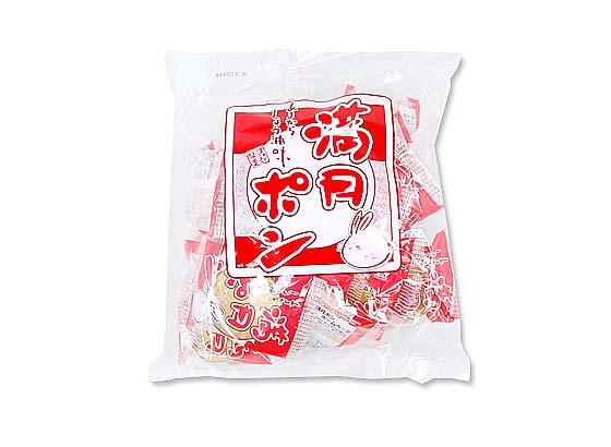 【お菓子のまとめ買い・おかき(あられ・おかき餅)】 22枚入り満月ポン【松岡】