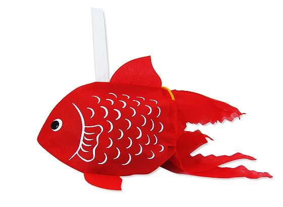 【お菓子の詰め合わせ・セット】 河中堂  祭金魚巾着 お菓子の詰め合わせ
