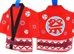【河中堂】  祭はっぴ巾着 お菓子の詰め合わせ