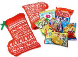 【 クリスマスお菓子の詰め合わせ 】  32cmクリスマス限定セット クリスマスブーツ型 お菓子詰め合わせ・セットA