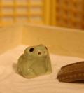 カエル陶器201001m