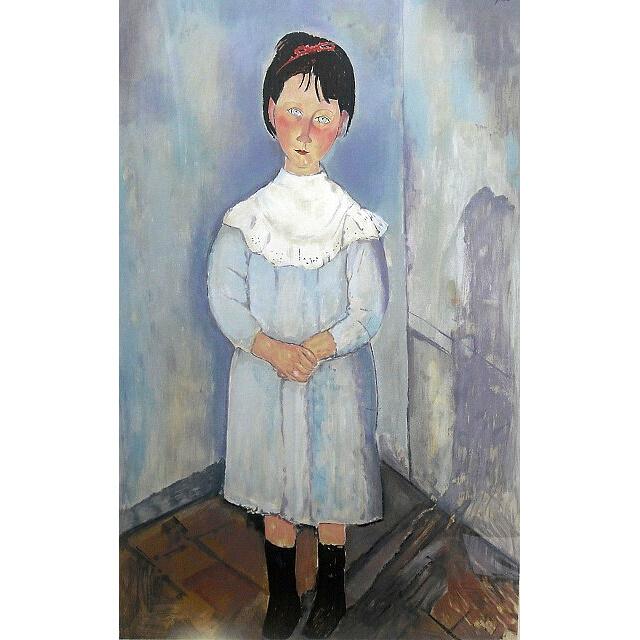 モディリアーニ 青い服の少女