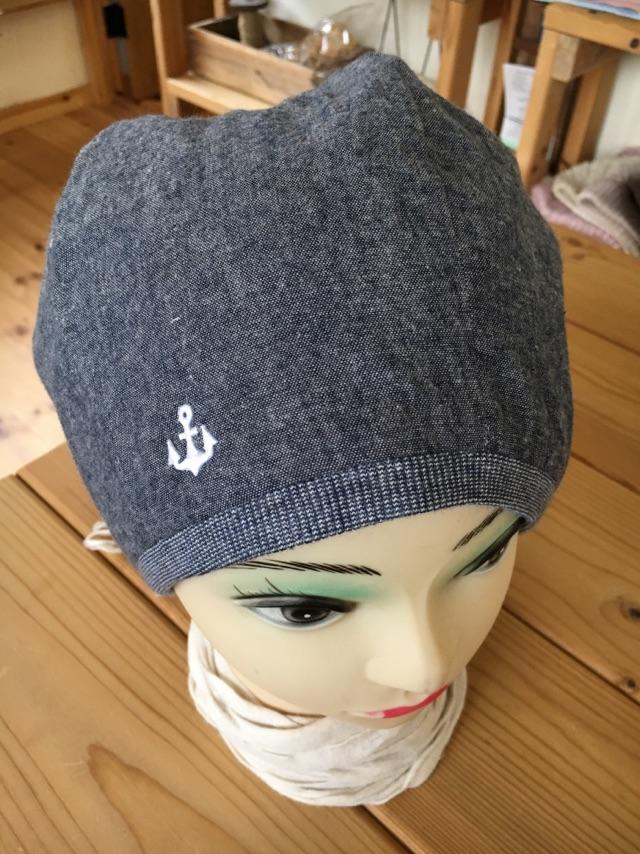 【セミオーダー】綿100%ダンガリーふんわり帽子