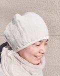 自然派ラミーリネンふんわり帽子(キナリ)