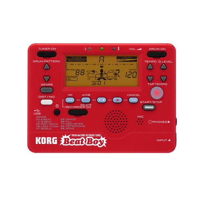 KORG ドラムマシーン レコーダーチューナー Beat Boy (ビートボーイ) 【送料無料】