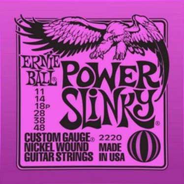 【送料無料メール便】ERNIE BALL アーニーボールエレキギター弦 2220 Power Slinky パワースリンキー 1SET