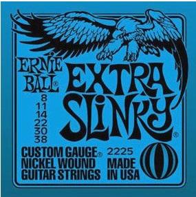 【送料無料メール便】ERNIE BALL アーニーボールエレキギター弦 2225 Extra Slinky エクストラスリンキー 1SET