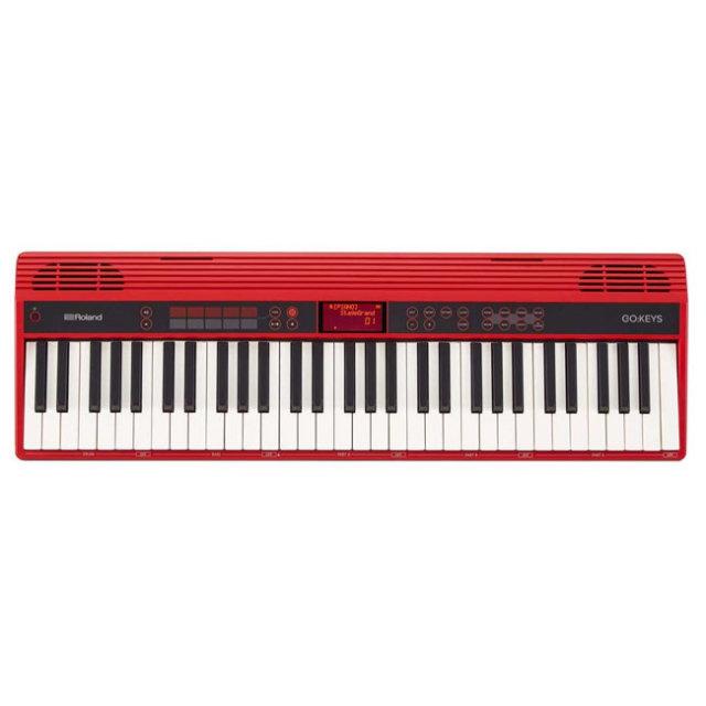 【送料無料】ROLAND  GO:KEYS ローランド61鍵エントリーキーボード 500以上の音色! GO-61K