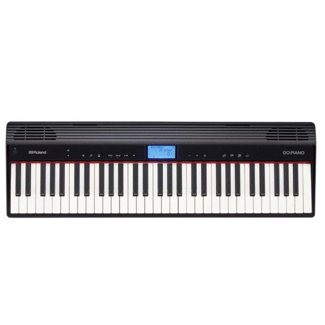 【送料無料】ROLAND  GO:PIANO ローランド61鍵エントリーキーボード 象牙調鍵盤 GO-61P