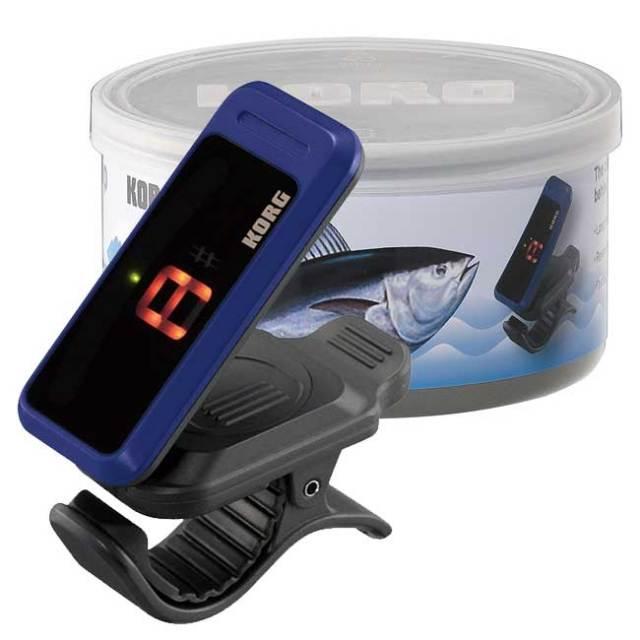 【送料無料】KORG限定チューナー チューナー缶 ブルー PC-1限定カラー