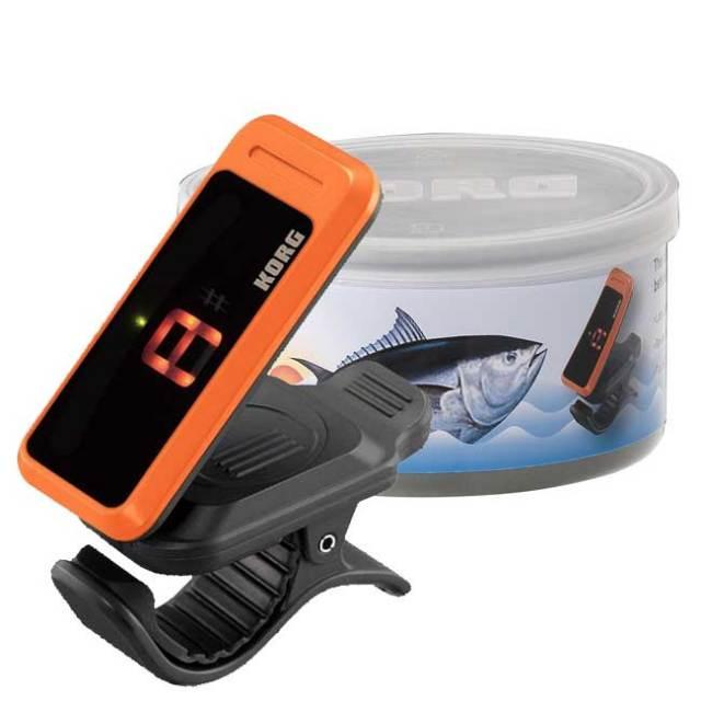 【送料無料】KORG限定チューナー チューナー缶 オレンジ PC-1限定カラー