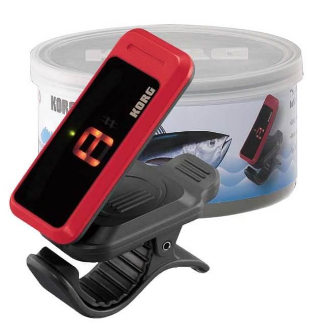 【送料無料】KORG限定チューナー チューナー缶(缶へこみ) レッド PC-1限定カラー