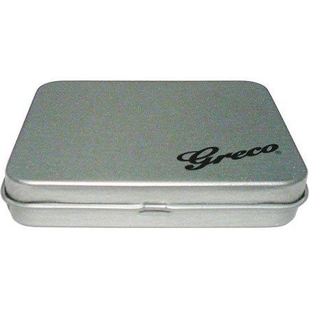 【送料無料メール便】Greco ピックケース缶 日本製 アクセサリー入れとしても