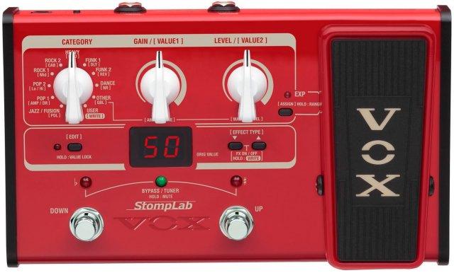 【送料無料】VOX ヴォックス ベースマルチエフェクター エクスプレッション・ペダル搭載 StompLab SL2B