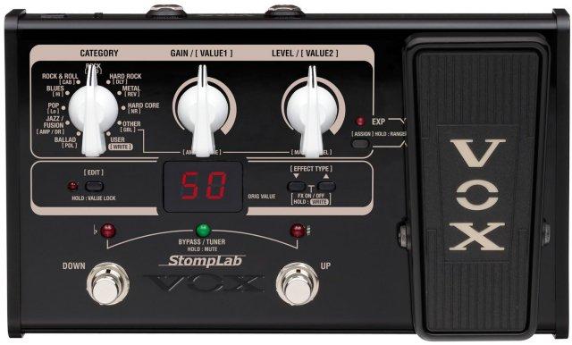 【送料無料】VOX ヴォックス ギターマルチエフェクター エクスプレッション・ペダル搭載 StompLab SL2G