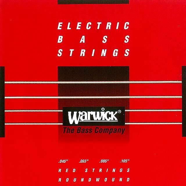"""【送料無料メール便】Warwick 4弦ベース弦 42200 045-105"""" STAINLESS STEEL Medium  045""""065""""085""""105"""""""