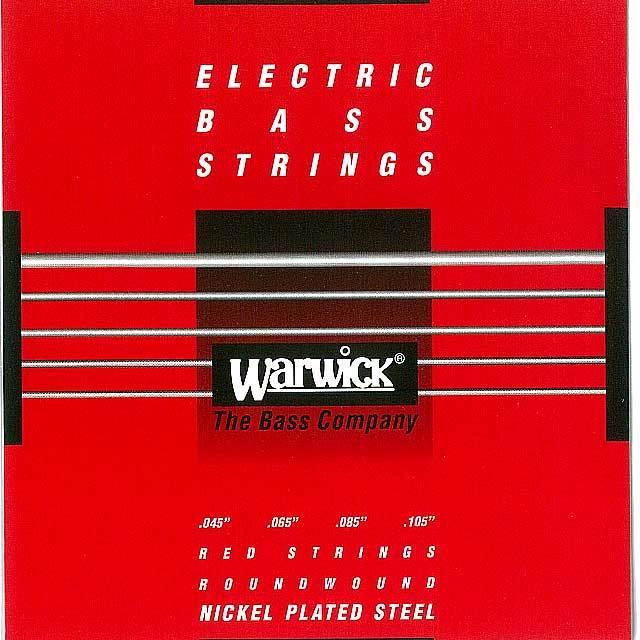 """【送料無料メール便】Warwick 4弦ベース弦 46200 045-105"""" NICKEL PLATED STEEL MediumSet  045""""065""""085""""105"""""""