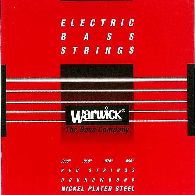 """【送料無料メール便】Warwick 4弦 ベース弦 46220 030-090"""" NICKEL PLATED STEEL EX Light  030""""050""""070""""090"""""""