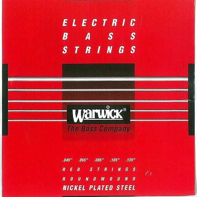 """【送料無料メール便】Warwick 5弦ベース弦 46301 045-135"""" NICKEL PLATED STEEL Medium LowB  045""""065""""085""""105""""135"""""""