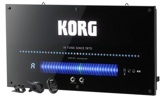 【送料無料】KORG ワイヤレス機能搭載 壁掛けチューナー ギター・ベース用 WDT-1