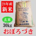 おぼろづき玄米30キロ